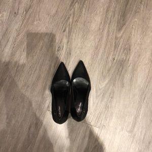 Calvin Klein Black Pumps Size 7